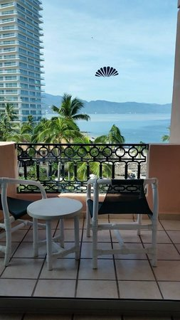Crown Paradise Golden Resort Puerto Vallarta: Terrace of our room 1709