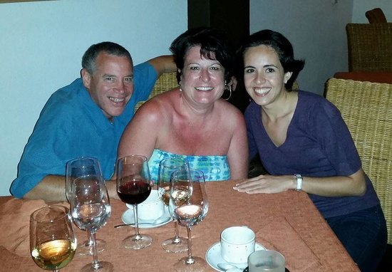 Crown Paradise Golden Resort Puerto Vallarta: Invited our amazing concierge to dinner with us