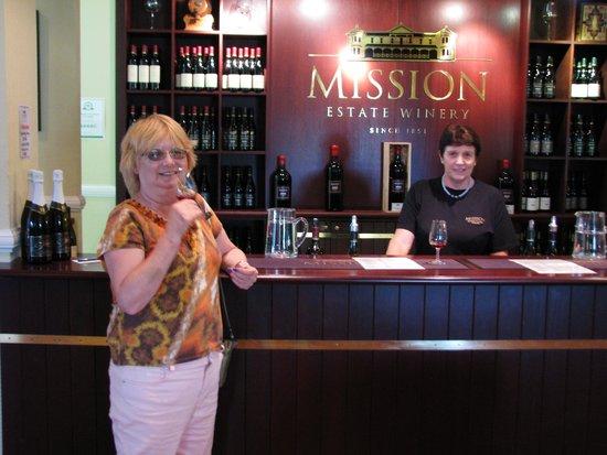 Wine Tasting at Mission Estate Winery