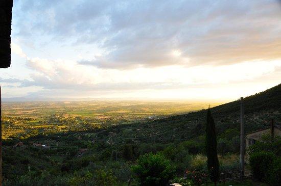 Locanda San Martino a Bocena: Sunset