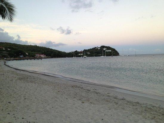 Hôtel La Pagerie : Вид на пляже