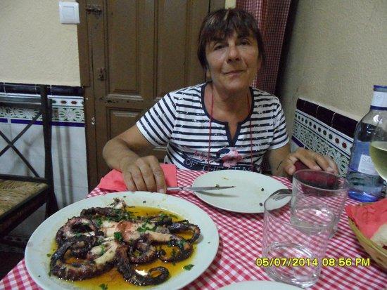 Asador Iñaki: Rosalba e il polpo