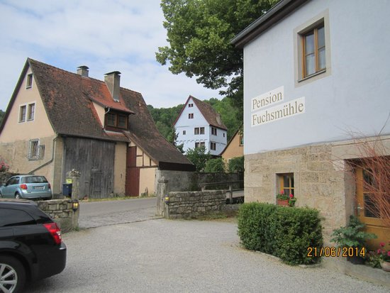 Pension Fuchsmühle: outside