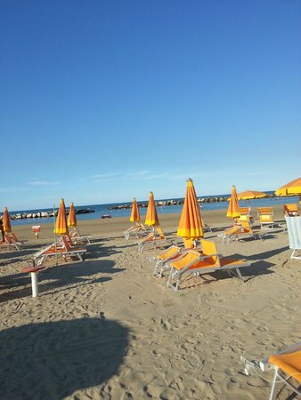 Hotel Milanese : this was the beach