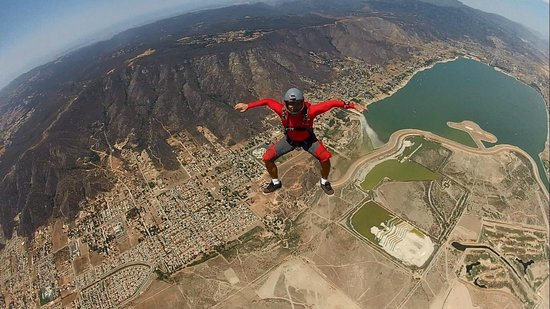 Skydive Elsinore: The view of the lake