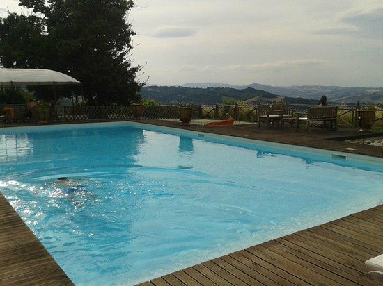 Villa Barocco : Pool and beautiful views
