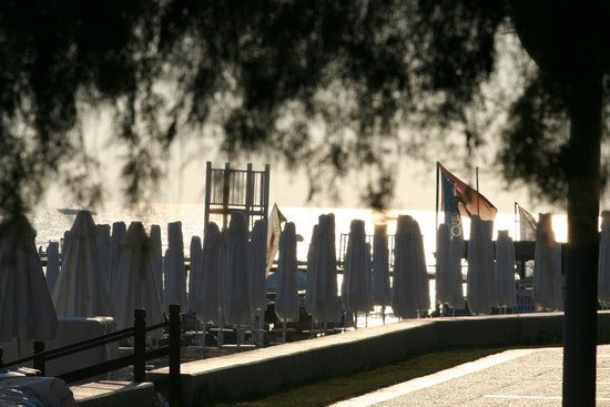 Barut Arum: Beach Bar at sundown