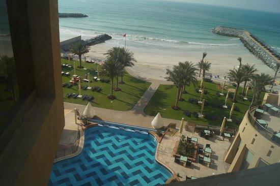 Bahi Ajman Palace Hotel: територия