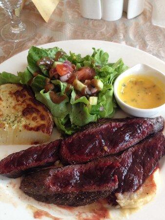 Farm Holiday Drangshlid: Great food!