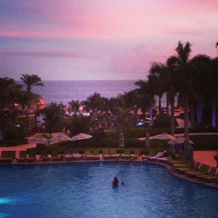 JW Marriott Guanacaste Resort & Spa: Sunset view from the sushi restaurant