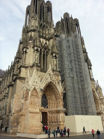 Cathedrale Notre-Dame de Reims: Собор в Реймсе