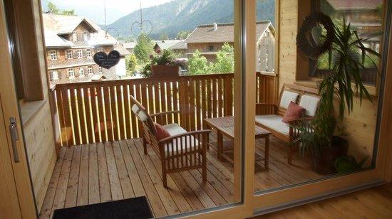 Wohlfüehlhaus Evelin: Die überdachte Terrasse