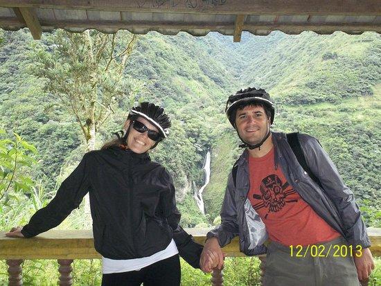 Ruta de las cascadas: 3er Cascada - Baños de Agua Santa