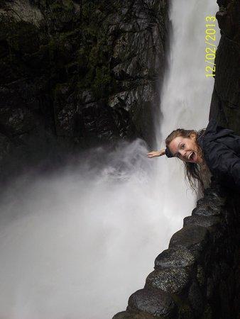 Ruta de las cascadas: 6ta Cascada: El Pailón del Diablo - Baños de Agua Santa