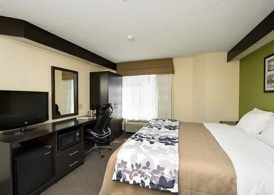 Sleep Inn Garner : NCKing Room