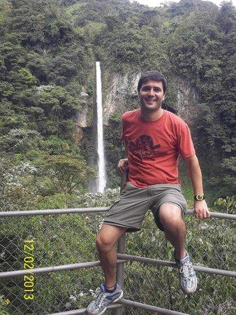 Ruta de las cascadas: 7ma Cascada: Cascada de Machay (desde arriba)