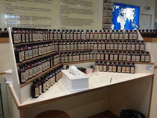 Parfumerie Galimard : Una postazione