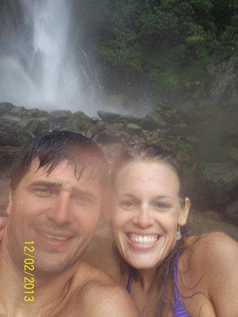 Ruta de las cascadas: 7ma Cascada: Cascada de Machay - Baños de Agua Santa
