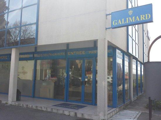 Parfumerie Galimard : Ingresso