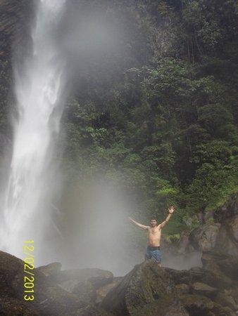 Ruta de las cascadas: 7ma Cascada: Cascada de Machay - Baños