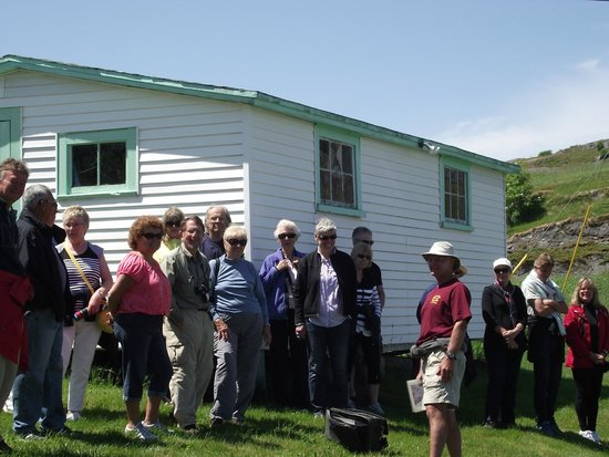 Trinity Historical Walking Tours: 1000th tour group, July 12 2014