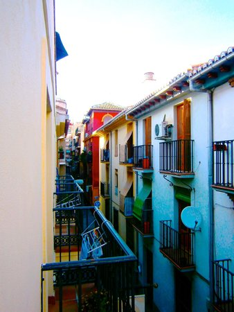 Apartamentos Centro: View from the balcony of our apartment