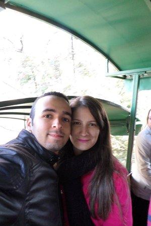 Parque Metropolitano: Subindo no funicular