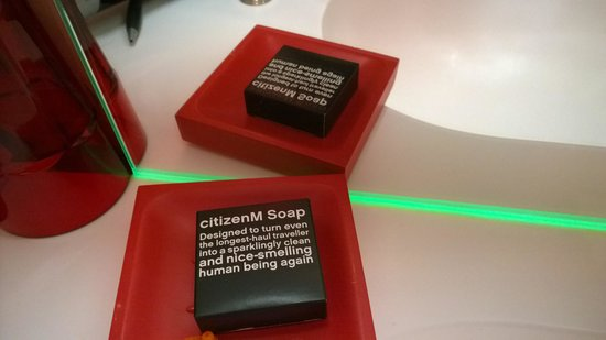 citizenM New York Times Square: lovely quotes everywhere