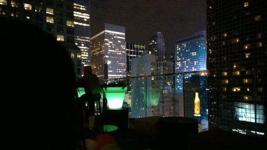 citizenM New York Times Square: the sky lounge