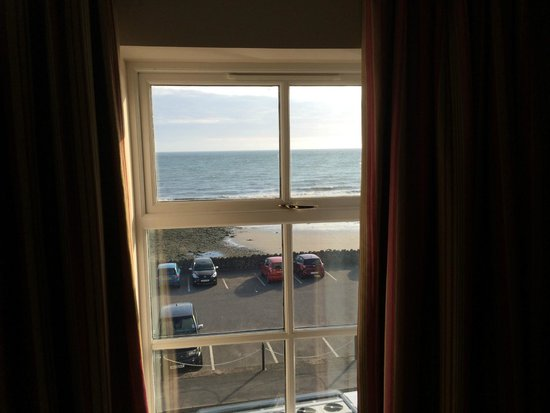 Ballygally Castle : View from our bedroom