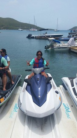Blue Rush Water Sports And Jet Ski Rentals Inc. : Thanks Trevor for the adrenaline rush !