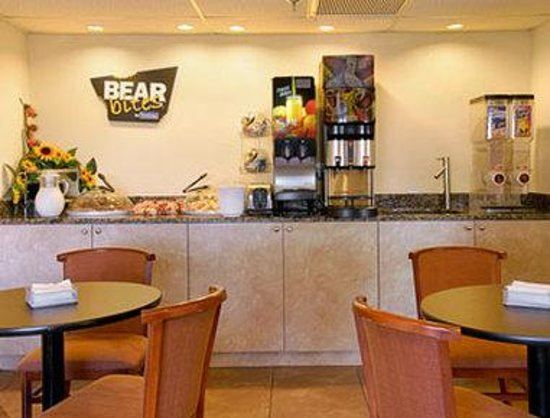 Travelodge Riviera Beach/West Palm: Breakfast Area