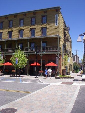 The Truckee Hotel: across the street