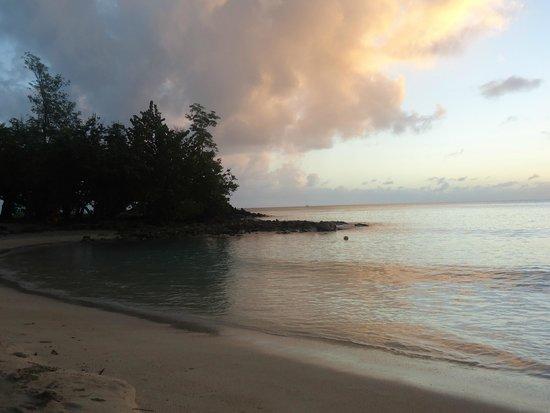 Anse Figuier: Закат