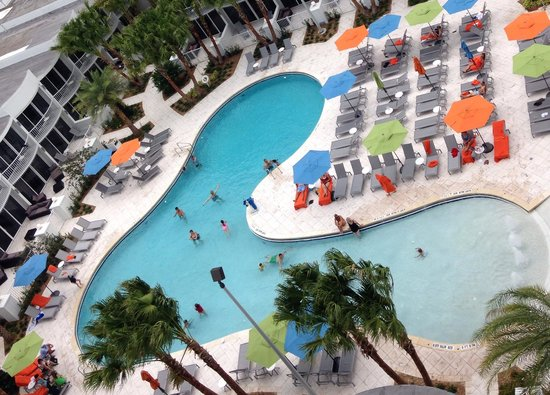 Fun at the pool picture of b resort spa orlando for B b spa
