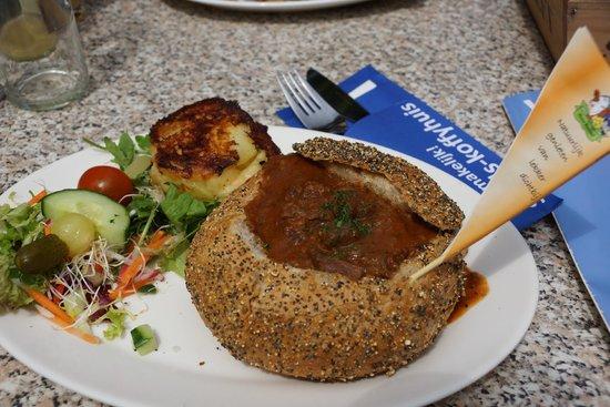 Stads-koffyhuis: almoço