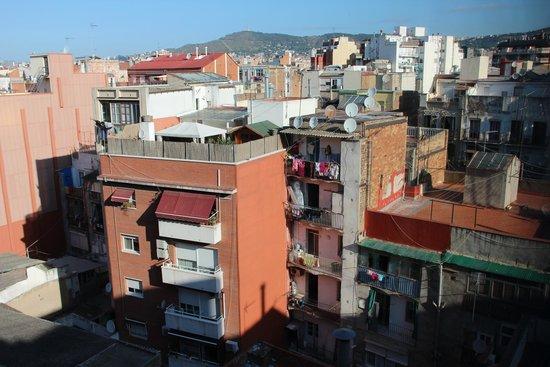 Hotel Acta Azul Barcelona : Вид из окна