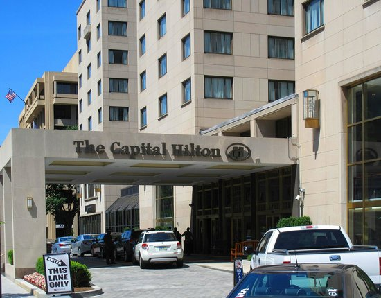 Capital Hilton: Entrance