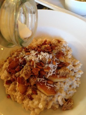 Captain Visger House: Best oatmeal ever
