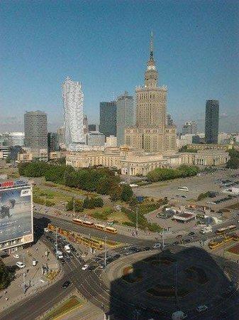 Novotel Warszawa Centrum : vista dalla finestra 1
