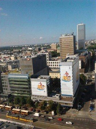 Novotel Warszawa Centrum : vista dalla finestra 2