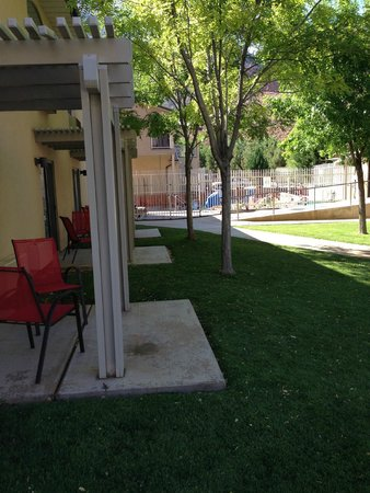 Quality Inn at Zion Park: porch