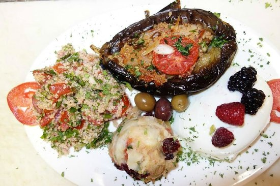 Marlaina's Mediterranean Kitchen: The spectacular taste of our summer eggplant special