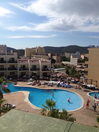 TRH Magaluf: view from our room
