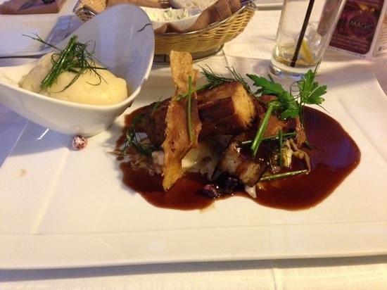 Empire Modern British Restaurant & Steak House: Belly pork