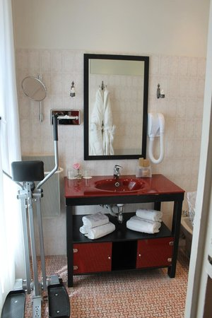Hotel de Latour Maubourg: The bathroom