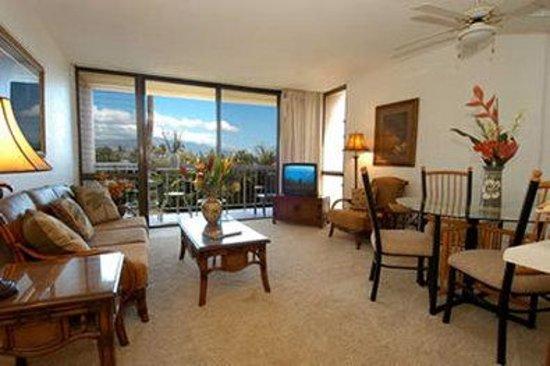 Maui Vista Resort: Living room