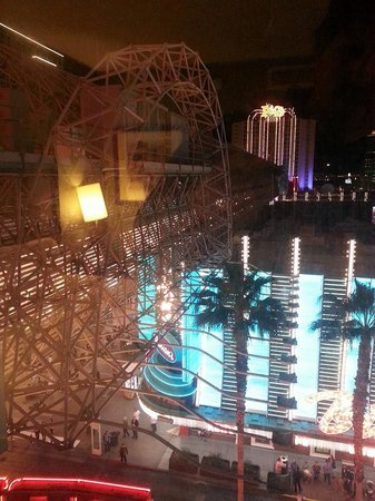Fremont Hotel and Casino: View from our room