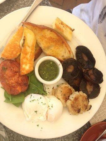 Cafe Fresq : Vegetarian special.