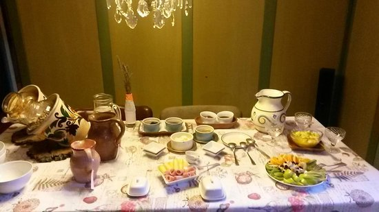 Los Juncos - Lake House: Delicioso desayuno